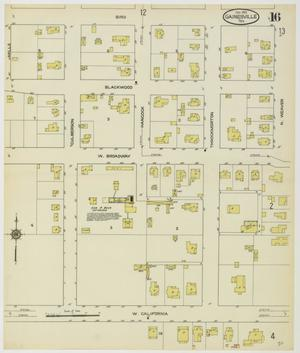 Primary view of object titled 'Gainesville 1913 Sheet 16'.