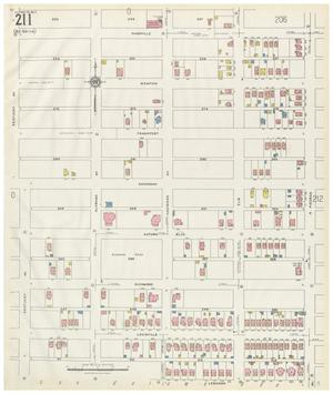 Primary view of object titled 'El Paso 1927 Sheet 211'.