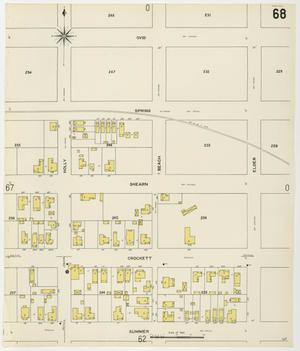 Primary view of object titled 'Houston 1907 Vol. 2 Sheet 68'.
