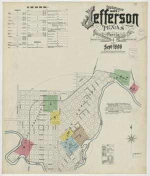 Primary view of object titled 'Jefferson 1896 Sheet 1'.