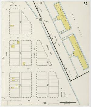 Primary view of object titled 'Galveston 1912 Sheet 32'.