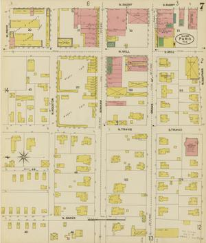 Primary view of object titled 'Paris 1902 Sheet 7'.
