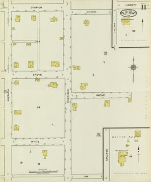 Primary view of object titled 'Pilot Point 1921 Sheet 11'.