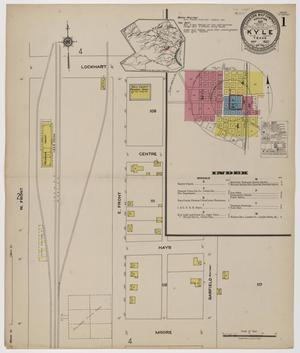 Primary view of object titled 'Kyle 1922 Sheet 1'.