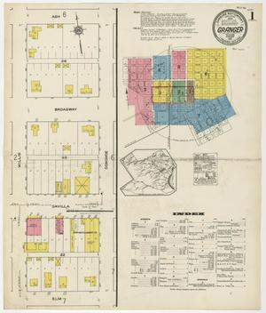 Primary view of object titled 'Granger 1921 Sheet 1'.