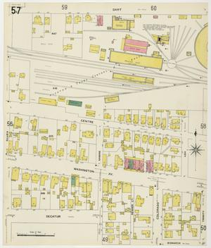 Primary view of object titled 'Houston 1907 Vol. 2 Sheet 57'.