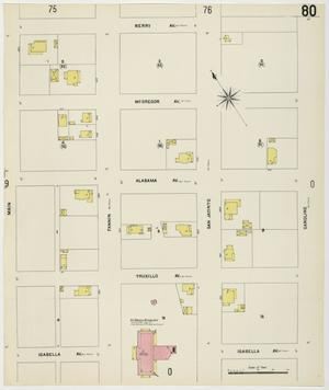 Primary view of object titled 'Houston 1907 Vol. 1 Sheet 80'.