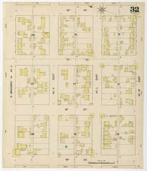 Primary view of object titled 'Galveston 1889 Sheet 32'.