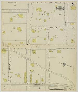 Primary view of object titled 'Madisonville 1914 Sheet 5'.