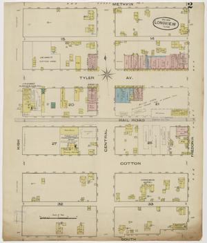 Primary view of object titled 'Longview 1885 Sheet 2'.