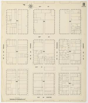 Primary view of object titled 'Galveston 1899 Sheet 11 (Skeleton)'.