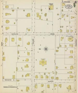 Primary view of object titled 'Plano 1901 Sheet 4'.