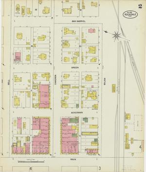 Primary view of Rockdale 1901 Sheet 2