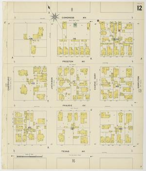 Primary view of Houston 1896 Sheet 12