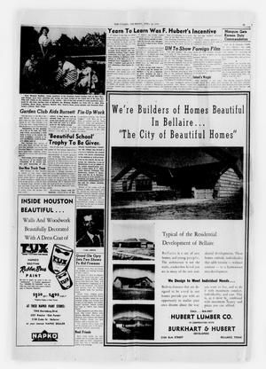 Primary view of object titled 'The Bellaire Citizen (Bellaire, Tex.), Ed. 1 Thursday, April 24, 1952'.