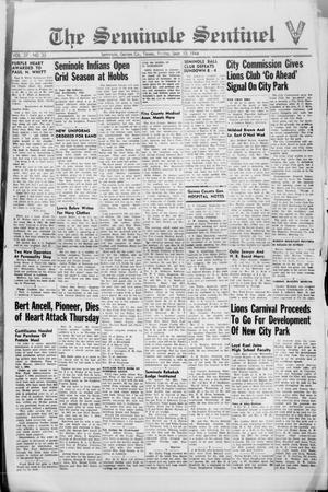 Primary view of object titled 'The Seminole Sentinel (Seminole, Tex.), Vol. 37, No. 33, Ed. 1 Friday, September 15, 1944'.