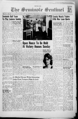 Primary view of object titled 'The Seminole Sentinel (Seminole, Tex.), Vol. 37, No. 24, Ed. 1 Friday, July 14, 1944'.