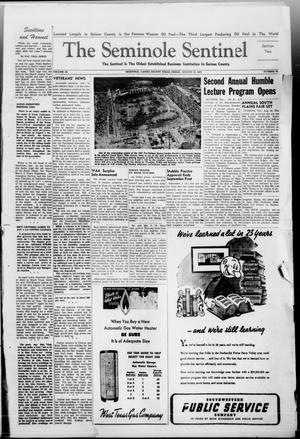 Primary view of object titled 'The Seminole Sentinel (Seminole, Tex.), Vol. 40, No. 26, Ed. 1 Friday, August 22, 1947'.