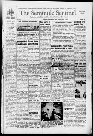 Primary view of object titled 'The Seminole Sentinel (Seminole, Tex.), Vol. 41, No. 6, Ed. 1 Friday, March 19, 1948'.