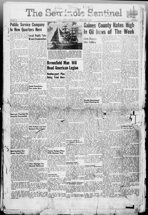 Primary view of object titled 'The Seminole Sentinel (Seminole, Tex.), Vol. 40, No. 10, Ed. 1 Friday, May 2, 1947'.