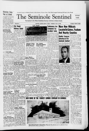 Primary view of object titled 'The Seminole Sentinel (Seminole, Tex.), Vol. 41, No. 23, Ed. 1 Friday, July 16, 1948'.