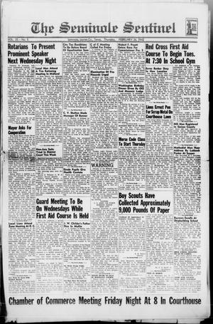 Primary view of object titled 'The Seminole Sentinel (Seminole, Tex.), Vol. 35, No. 5, Ed. 1 Thursday, February 26, 1942'.
