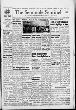 Primary view of object titled 'The Seminole Sentinel (Seminole, Tex.), Vol. 40, No. 51, Ed. 1 Friday, January 30, 1948'.