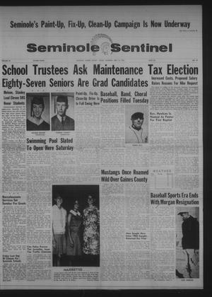 Primary view of object titled 'Seminole Sentinel (Seminole, Tex.), Vol. 60, No. 27, Ed. 1 Thursday, May 18, 1967'.