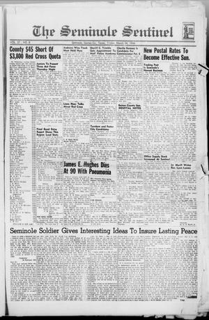 Primary view of object titled 'The Seminole Sentinel (Seminole, Tex.), Vol. 37, No. 8, Ed. 1 Friday, March 24, 1944'.