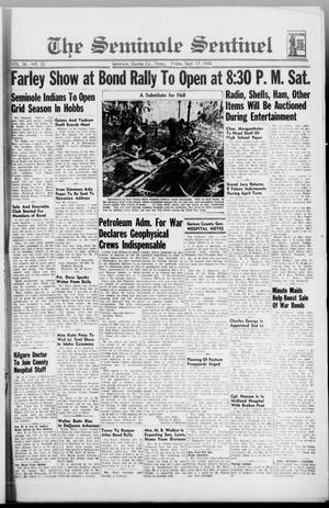 Primary view of object titled 'The Seminole Sentinel (Seminole, Tex.), Vol. 36, No. 33, Ed. 1 Friday, September 17, 1943'.