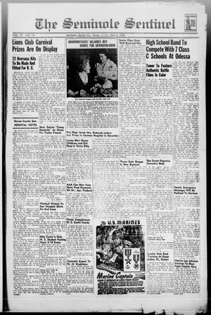 Primary view of object titled 'The Seminole Sentinel (Seminole, Tex.), Vol. 37, No. 14, Ed. 1 Friday, May 5, 1944'.