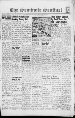 Primary view of object titled 'The Seminole Sentinel (Seminole, Tex.), Vol. 35, No. 51, Ed. 1 Friday, January 15, 1943'.