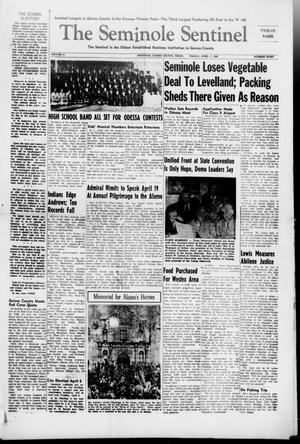 Primary view of object titled 'The Seminole Sentinel (Seminole, Tex.), Vol. 41, No. 8, Ed. 1 Friday, April 2, 1948'.