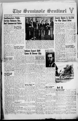 Primary view of object titled 'The Seminole Sentinel (Seminole, Tex.), Vol. 37, No. 36, Ed. 1 Friday, October 6, 1944'.