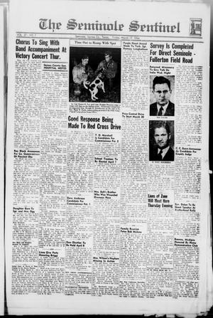Primary view of object titled 'The Seminole Sentinel (Seminole, Tex.), Vol. 37, No. 7, Ed. 1 Friday, March 17, 1944'.