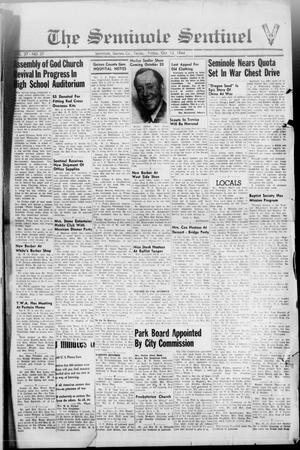 Primary view of object titled 'The Seminole Sentinel (Seminole, Tex.), Vol. 37, No. 37, Ed. 1 Friday, October 13, 1944'.