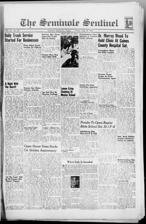 Primary view of object titled 'The Seminole Sentinel (Seminole, Tex.), Vol. 36, No. 20, Ed. 1 Friday, June 18, 1943'.