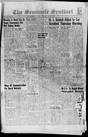 Primary view of object titled 'The Seminole Sentinel (Seminole, Tex.), Vol. 35, No. 15, Ed. 1 Thursday, May 7, 1942'.