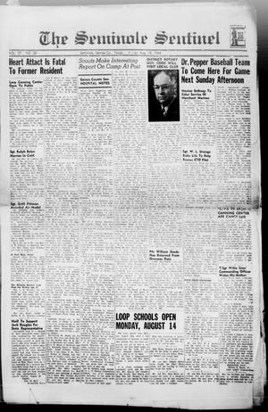 Primary view of object titled 'The Seminole Sentinel (Seminole, Tex.), Vol. 37, No. 29, Ed. 1 Friday, August 18, 1944'.