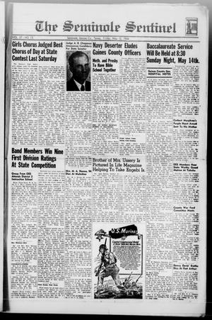 Primary view of object titled 'The Seminole Sentinel (Seminole, Tex.), Vol. 37, No. 15, Ed. 1 Friday, May 12, 1944'.