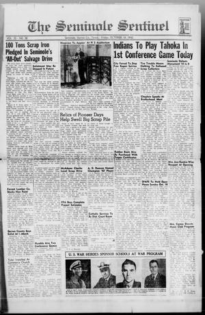 Primary view of object titled 'The Seminole Sentinel (Seminole, Tex.), Vol. 35, No. 38, Ed. 1 Friday, October 16, 1942'.
