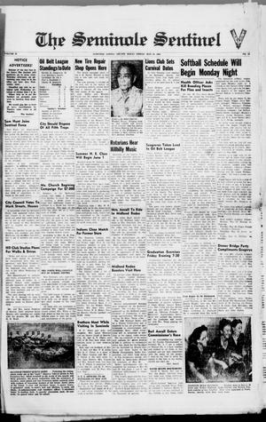 Primary view of object titled 'The Seminole Sentinel (Seminole, Tex.), Vol. 39, No. 13, Ed. 1 Friday, May 24, 1946'.