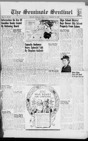 Primary view of object titled 'The Seminole Sentinel (Seminole, Tex.), Vol. 35, No. 47, Ed. 1 Friday, December 18, 1942'.