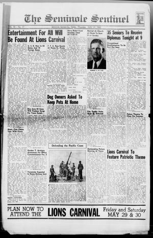 Primary view of object titled 'The Seminole Sentinel (Seminole, Tex.), Vol. 35, No. 17, Ed. 1 Thursday, May 21, 1942'.