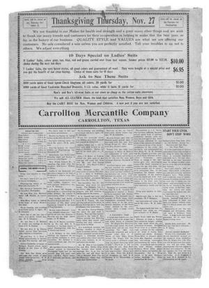 Carrollton Chronicle (Carrollton, Tex ), Vol  10, No  16, Ed