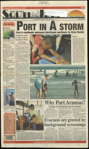 Primary view of object titled 'Port Aransas South Jetty (Port Aransas, Tex.), Vol. 35, No. 36, Ed. 1 Thursday, September 8, 2005'.