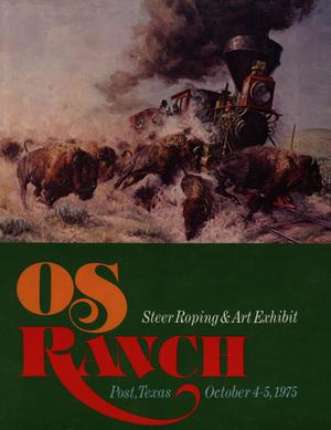 OS Ranch Steer Roping & Art Exhibit, October 4-5, 1975