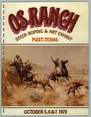OS Ranch Steer Roping & Art Exhibit, October 5-7, 1979