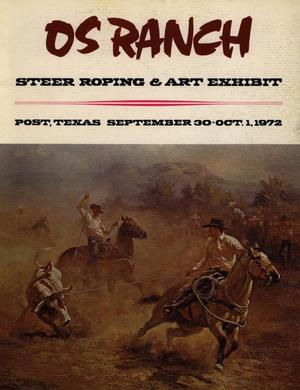 OS Ranch Steer Roping & Art Exhibit, September 30 - October 1, 1972