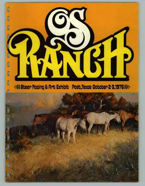 Primary view of object titled 'OS Ranch Steer Roping & Art Exhibit, October 2-3, 1976'.